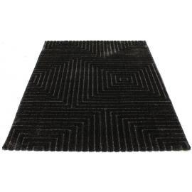 Ковер LUNA №2455A (Черный / Черный)
