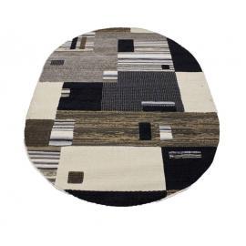 Ковер LOFT №7960A (Темно-Бежевый / Черный)
