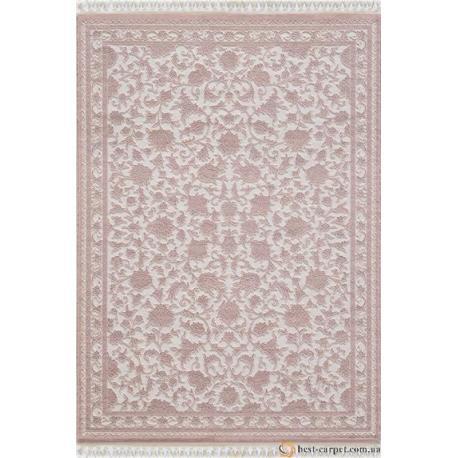Ковер DELUKS № 6896 Бело-Розовый
