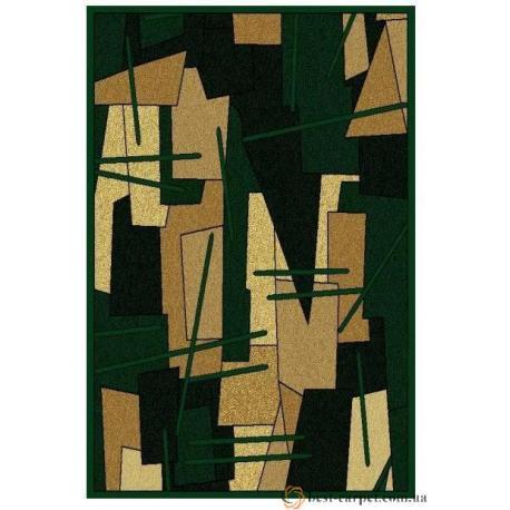 Ковер AMBER № 0089A Зеленый
