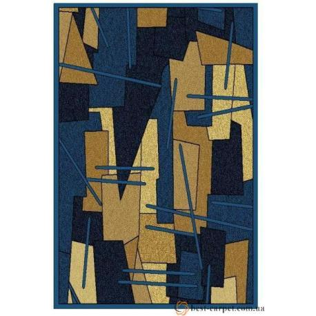 Ковер AMBER № 0089A Голубой