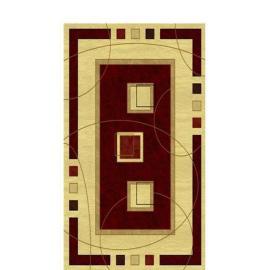 Ковер AMBER № 0459A Бордово-Кремовый