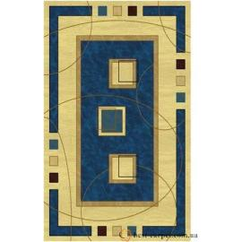Ковер AMBER № 0459A Голубо-Кремовый