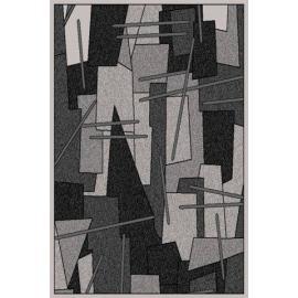 Ковер AMBER № 0089A Серый