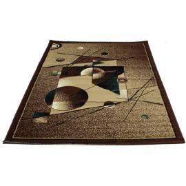 Ковер TABRIZ №2507C (Песок / Темно-коричневый)