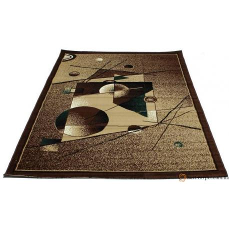 Ковер TABRIZ №2507C (Песок/Темно-коричневый)