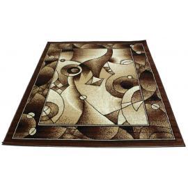 Ковер TABRIZ №4887A (Песок / Темно-коричневый)