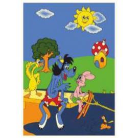Ковер KIDS № B616A Голубой