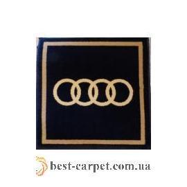 Ковер AUTO № N001A-Audi Синий