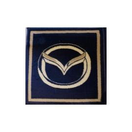 Ковер AUTO № N001C-Mazda Синий