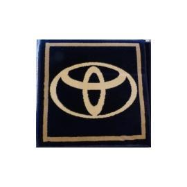 Ковер AUTO № N001G-Toyota Синий