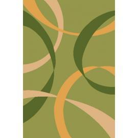 Ковер FIRUZE LUX № 2632A Светло-зеленый