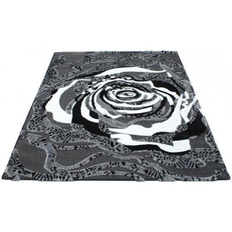 Ковер LUNA №2452a (Черный / Серый)